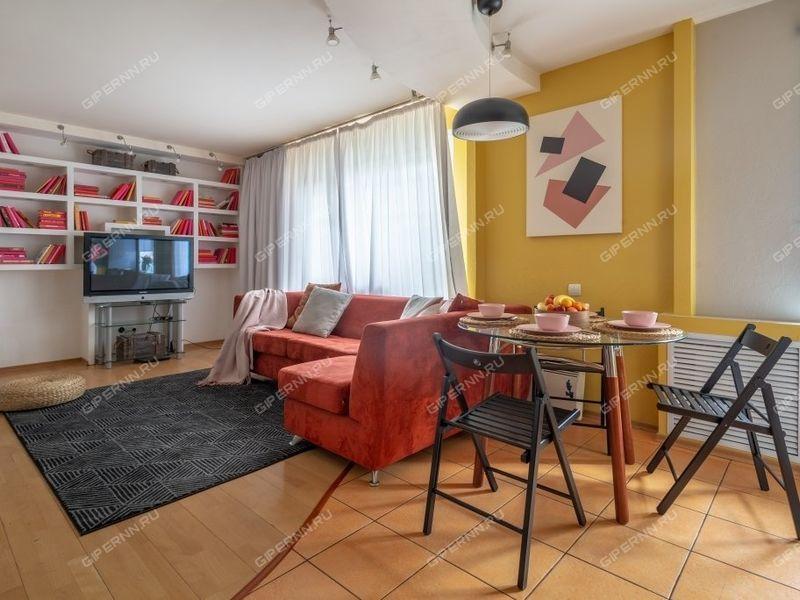 двухкомнатная квартира на сутки на улице Большая Покровская дом 75