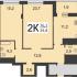 двухкомнатная квартира на проспекте Гагарина дом 122