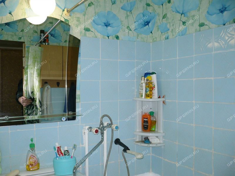 трёхкомнатная квартира на улица Энтузиастов дом 13 рабочий посёлок Смолино