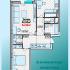 двухкомнатная квартира на ул. Александра Хохлова, Многоквартирный дом 1