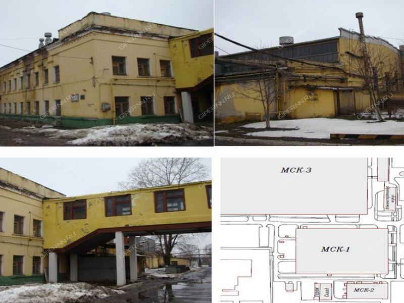 здание под склад, производственную площадь на улице Новикова-Прибоя