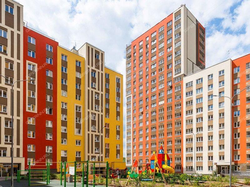 однокомнатная квартира в новостройке на улице Романтиков