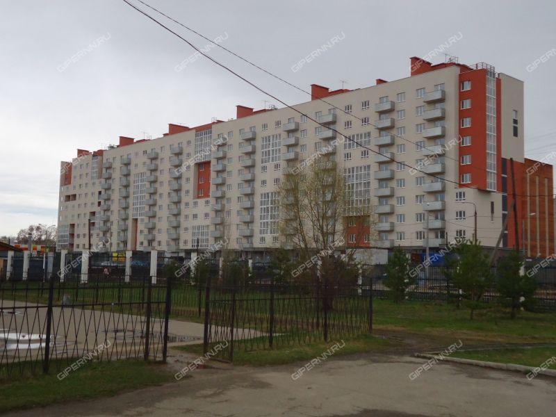 двухкомнатная квартира на улице Дворовая дом 30
