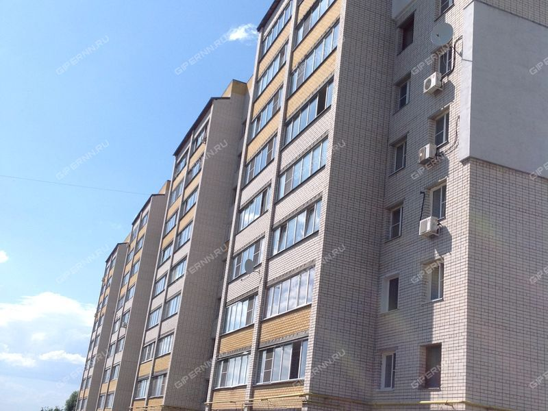 однокомнатная квартира на улице Кстовская дом 15 город Кстово